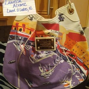 SOLDLouis Vuitton Riviera Gallaria Gm shoulder bag